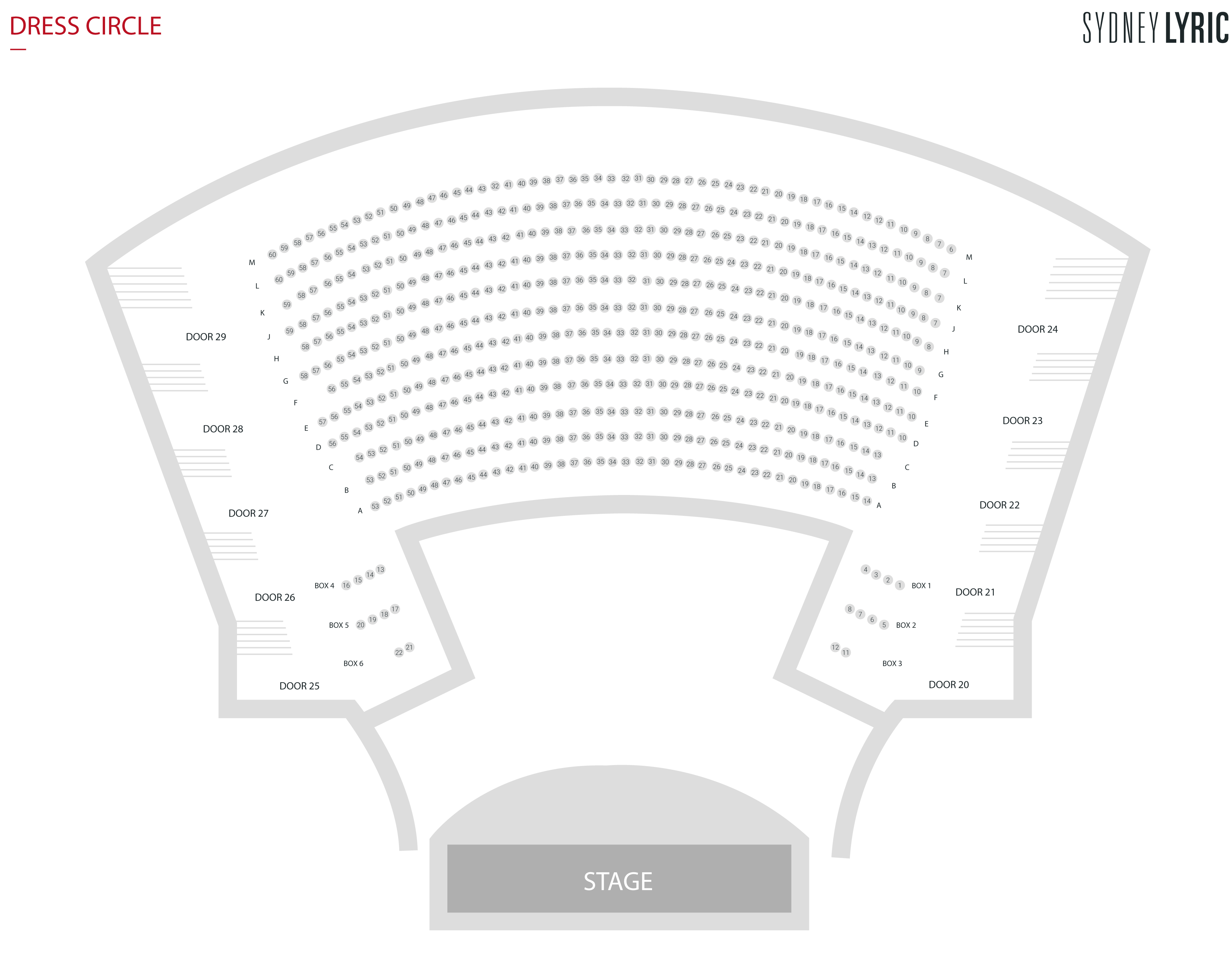 Prince of Wales Theatre Seating Plan, London | Boxoffice.co.uk